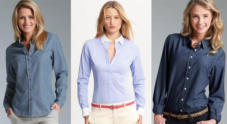 Различни модели ризи за жени и момичета